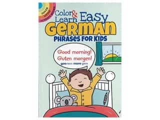 Dover Publications Little Color & Learn Easy German Book