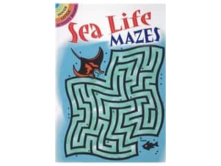 books & patterns: Dover Publications Little Sea Life Mazes Book
