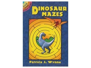 books & patterns: Dover Publications Little Dinosaur Mazes Book