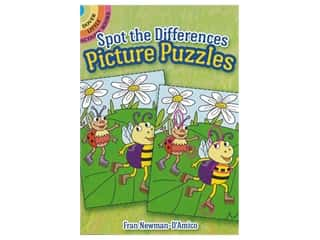 books & patterns: Dover Publications Little Spot The Differences Picture Book