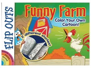 books & patterns: Dover Publications Flip Outs Funny Farm Book