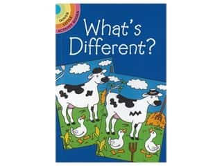 books & patterns: Dover Publications Little What's Different? Book