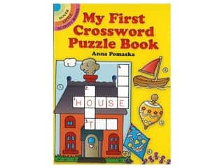 books & patterns: Dover Publications Little My First Crossword Puzzle Book