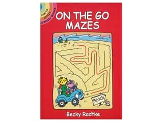 books & patterns: Dover Publications Little On The Go Mazes Book