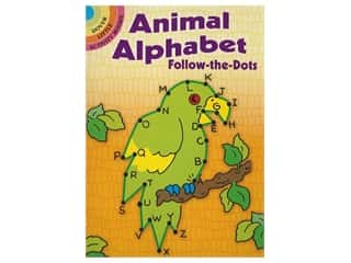 books & patterns: Dover Publications Little Animal Alphabet Follow-The-Dots Book