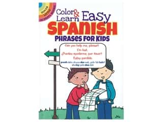 books & patterns: Dover Publications Little Color & Learn Easy Spanish Book