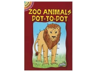 Dover Publications Little Zoo Animals Dot-To-Dot Book