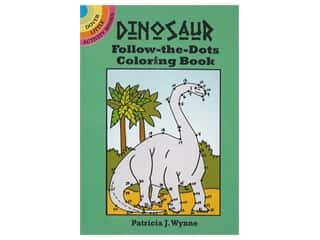 books & patterns: Dover Publications Little Dinosaur Follow-The-Dots Coloring Book