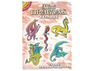 Dover Publications Little Mini Dragon Tattoos Book