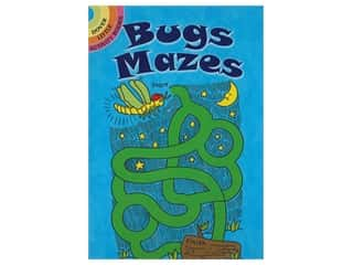 books & patterns: Dover Publications Little Bugs Mazes Book