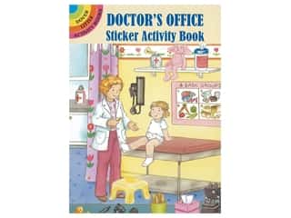 Dover Publications Little Doctor's Office Sticker Activity Book