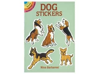 books & patterns: Dover Publications Little Dog Sticker Book