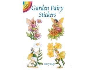 Dover Publications Little Garden Fairy Stickers Book