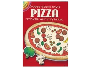 books & patterns: Dover Publications Little Make Your Own Pizza Sticker Book