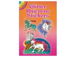 Dover Publications Little Glitter Unicorn Stickers Book