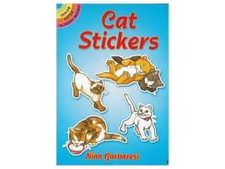 Dover Publications Little Cat Stickers Book