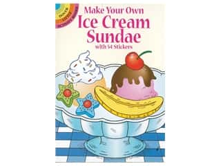 books & patterns: Dover Publications Little Make Your Own Ice Cream Sundae Sticker Book