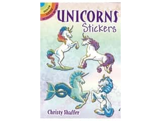 books & patterns: Dover Publications Little Unicorn Stickers Book
