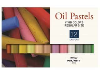 Pro Art Oil Pastel Set Regular  12 Vivid Color