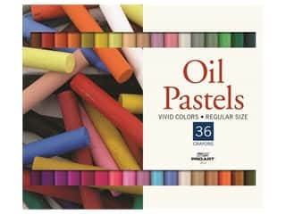 art, school & office: Pro Art Oil Pastel Set 36 Vivid Color