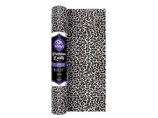 PA Vinyl Iron On 12 in. x 15 in. Roll Leopard