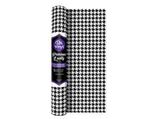 craft & hobbies: PA Vinyl Iron On 12 in. x 15 in. Roll Houndstooth
