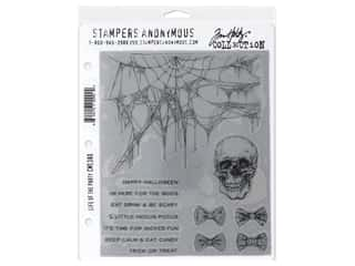 Stampers Anonymous Tim Holtz Cling Mount Stamp Set - Life of the Party
