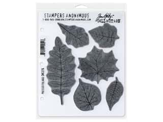 Stampers Anonymous Tim Holtz Cling Mount Stamp Set - Pressed Foliage
