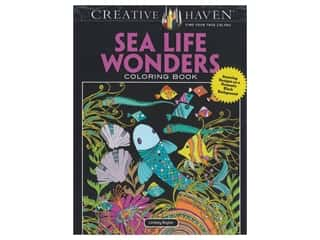 Dover Publications Creative Haven Sea Life Wonders Coloring Book