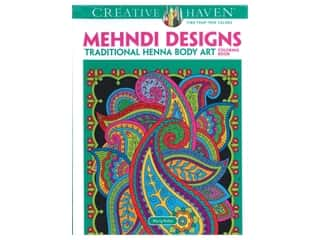 books & patterns: Dover Publications Creative Haven Mehndi Designs Coloring Book