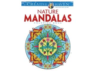 Dover Publications Creative Haven Nature Mandalas Coloring Book