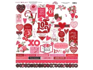 Photo Play 12 x 12 in. Sticker Sheet Be Mine (12 pieces)