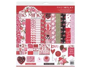 scrapbooking & paper crafts: Photo Play 12 x 12 in. Collection Pack Be Mine