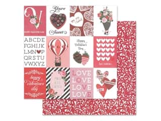 scrapbooking & paper crafts: Photo Play 12 x 12 in. Paper Be Mine You're Sweet (25 pieces)