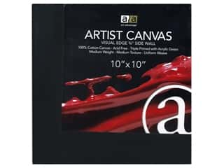Art Advantage Artist Canvas 10 x 10 in. Black