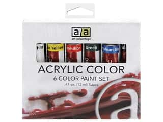 Art Advantage Paint Set Acrylic .41 oz 6 Color