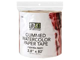 art, school & office: Art Advantage Gummed Paper Tape 2.8 in. x 82 ft.