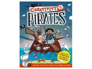 Carlton Kids Creativity On The Go Pirates Book