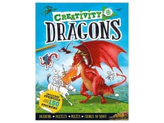 books & patterns: Carlton Kids Creativity On The Go Dragon Book