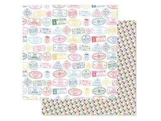 Paper House Paper 12 in. x 12 in. Passport Stamps (15 pieces)