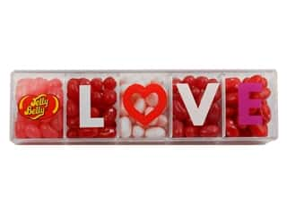 craft & hobbies: Jelly Belly Jelly Beans Clear Love Gift Box 4 oz 5 Flavors