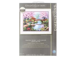 yarn: Dimensions Counted Cross Stitch Kit 16 x 12 in. Japanese Garden