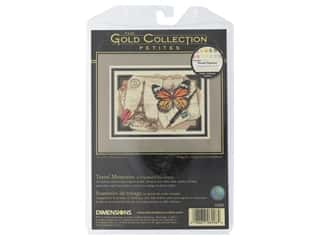 Dimensions Cross Stitch Kit Gold Collection 7 in. x 5 in. Travel Memories