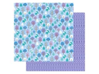 scrapbooking & paper crafts: Doodlebug Collection Winter Wonderland Paper 12 in. x 12 in. Frosted Forest (25 pieces)