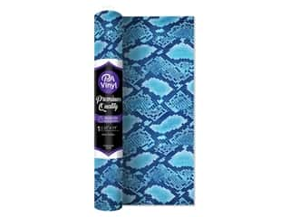 craft & hobbies: PA Iron-On Vinyl 12 x 19 in. Blue Snake