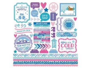 scrapbooking & paper crafts: Doodlebug Collection Winter Wonderland Sticker This & That