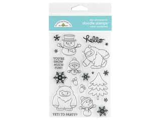 scrapbooking & paper crafts: Doodlebug Collection Winter Wonderland Doodle Stamps Winter Wonderland