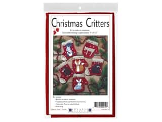 Rachel's Of Greenfield Kit Felt Christmas Critters