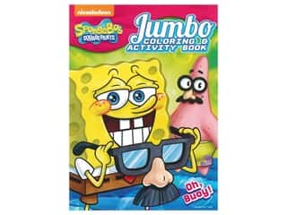 Bendon Jumbo Coloring & Activity Book Spongebob Squarepants