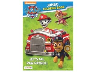 books & patterns: Bendon Jumbo Coloring & Activity Book PAW Patrol